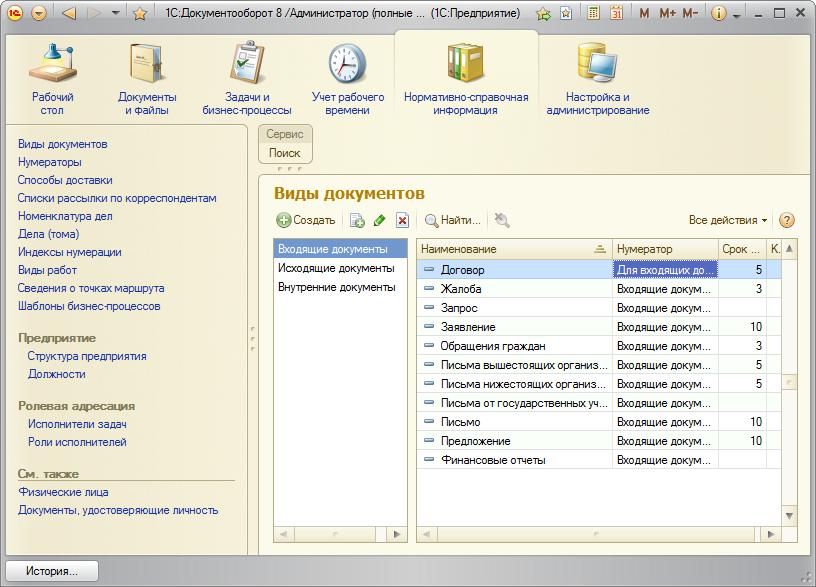 Скачать программу документооборот 1с бесплатно